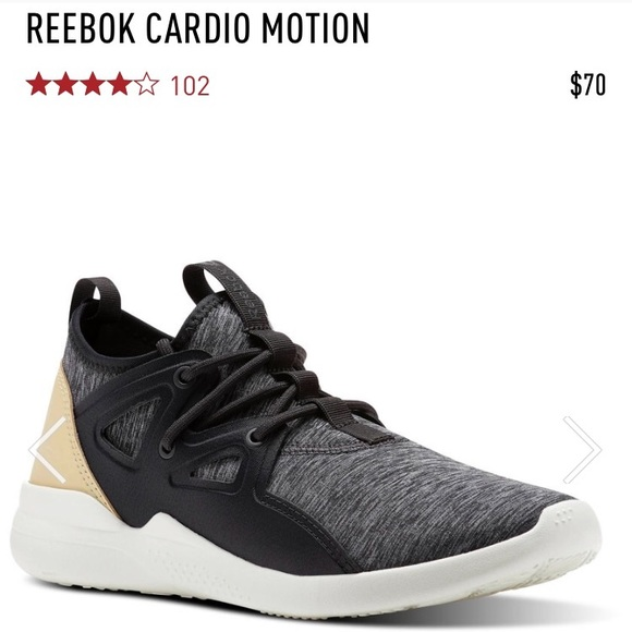 Reebok Cardio Motion Sneakers  </div> <div id=